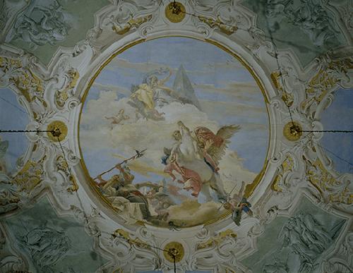 Giambattista Tiepolo, Bellerphon On Pegasus, 1746-47, Palazzo Labia, Venice