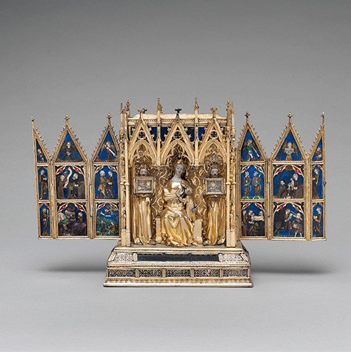 Reliquary Shrine, ca. 1325 – 50, attributed to Jean de Touyl, Metropolitan Museum of Art, New York © 2021. Image copyright The Metropolitan Museum of Art/Art Resource/Scala, Florence
