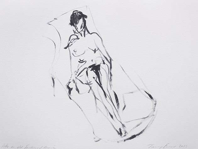 Tracey Emin, Like an Old Fashioned Time, 2013.