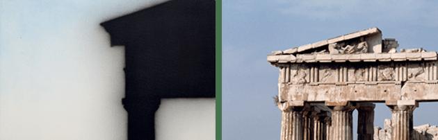 Detail of the present work CAPTION: Detail of the Parthenon, Werner Forman Archive / Bridgeman Images