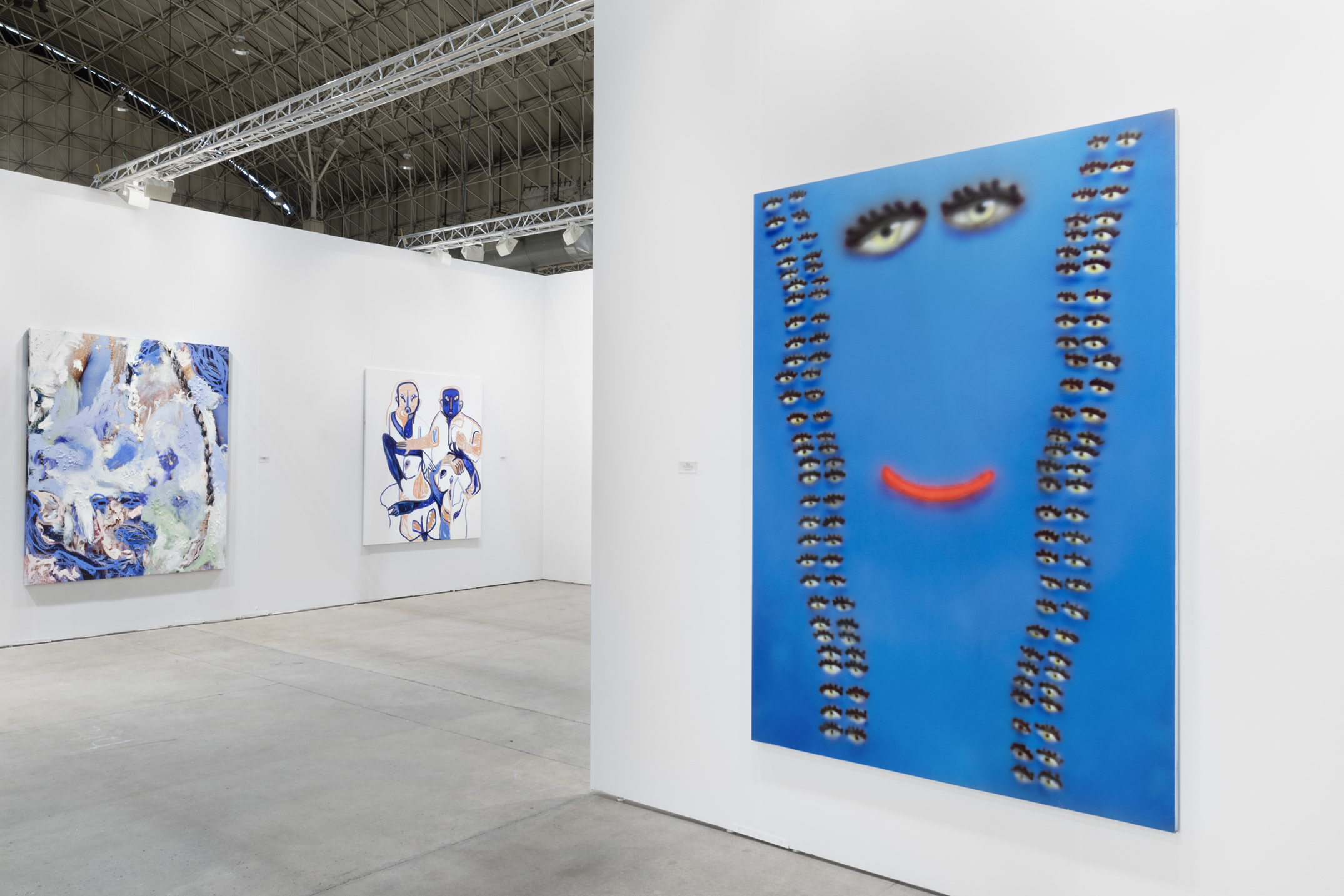 Installation view of Look at Peres Projects, EXPO CHICAGO, 2018