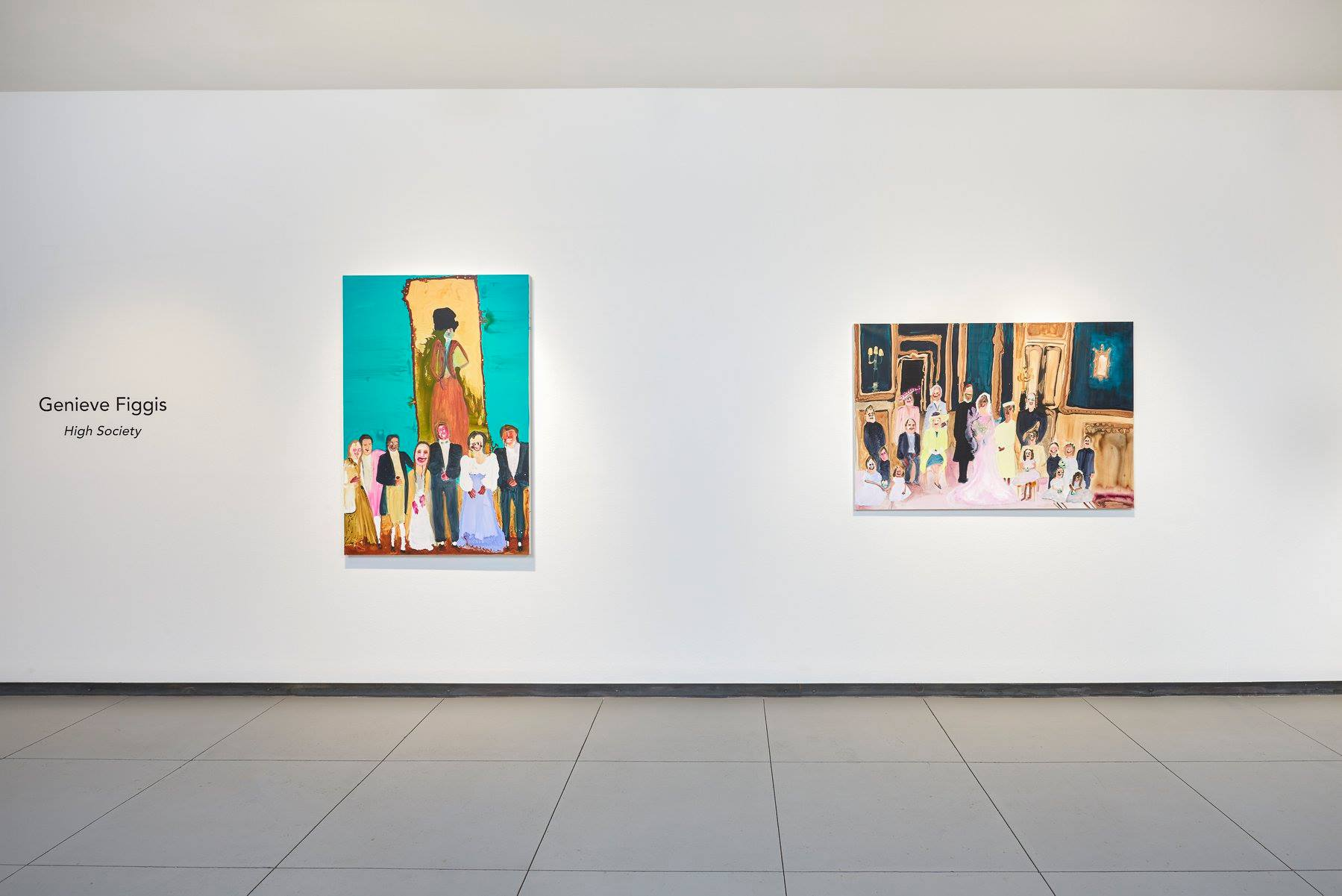 Installation view,High Society at Baldwin Gallery in 2019