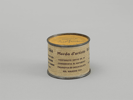 Piero Manzoni, Artist's Shit No. 014, 1961. The Museum of Modern Art, New York. Digital Image © The Museum of Modern Art/Licensed by SCALA / Art Resource, NY. © 2021 Artists Rights Society (ARS), New York / SIAE, Rome