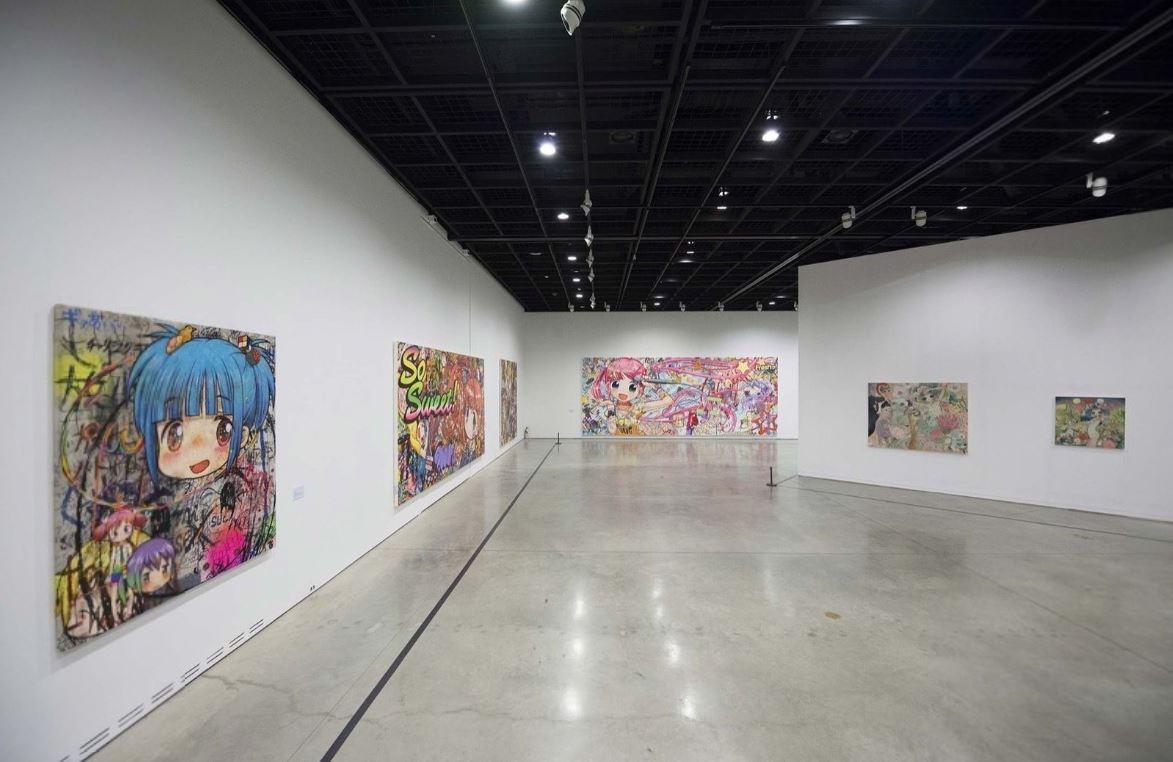 The present work exhibited at Animamix Biennale at Daegu Art Museum in 2015
